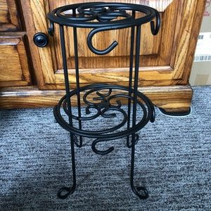 Longaberger Wrought Iron Coffee Mug Tree